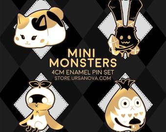 FFXIV Mini Monsters Enamel Pin Set
