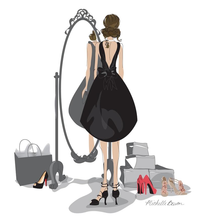 Little Black Dress Print image 0