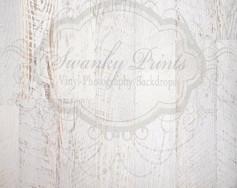 4ft x 4ft Vinyl Photography Backdrop for Accessories / White Textured Wood