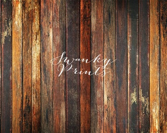 10ft x 7ft GRUNGE Wood Floor / Awesome Vinyl Photography Backdrop