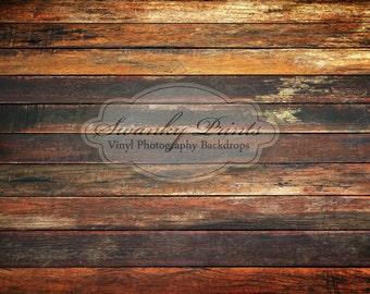 LARGE 10ft x 8ft Old Grungy Dark Floor Floordrop Vinyl Backdrops / Long Panels