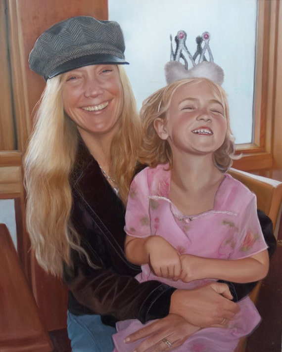 CUSTOM PORTRAIT - Oil Painting - Custom Painting from Photo - Perfect gift