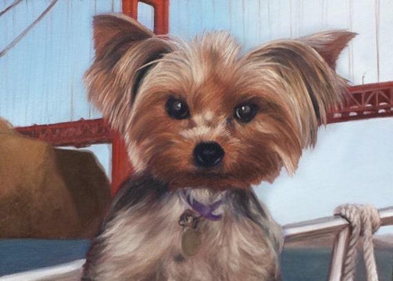 Miniature Custom Portrait - Oil Painting - Mini Portrait - Unique Gift
