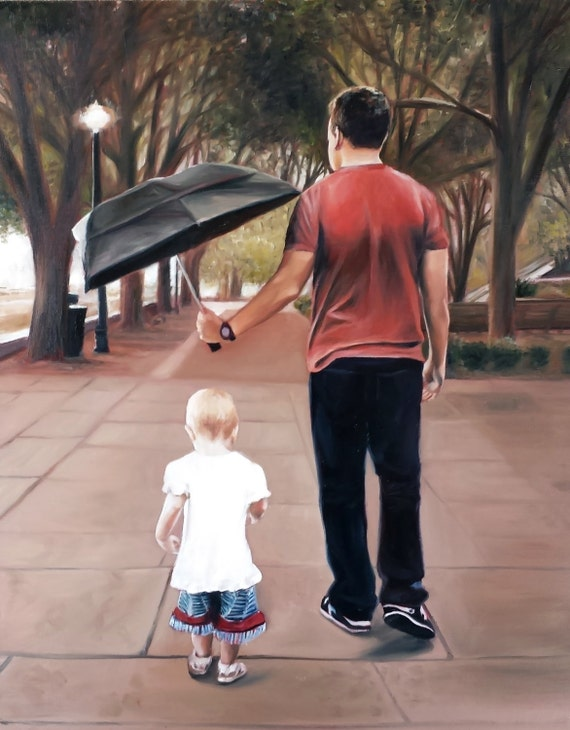 Custom Portrait - Custom Oil Painting - Custom Artwork - Oil Painting - Family Gift