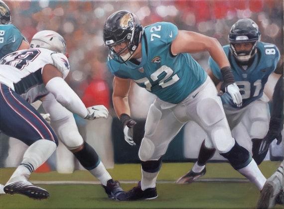 Custom Sports Painting - Oil Painting - Sports Art - Football Painting - NFL Painting - Sports Fan - Custom Portrait