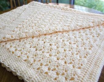 Baby Decke Häkeln Afghanischen Muschel Muster Geschenk Plüsch Etsy