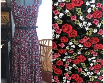 90's Flower Power Dress