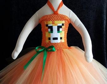 Minecraft cat tutu dress, Minecraft Creeper costume, Minecraft tutu dress, Minecraft Halloween costume Minecraft cat costume