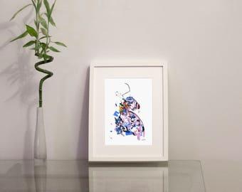 Comme Des Garçons SS18 Fashion Illustration Giclée Art Print
