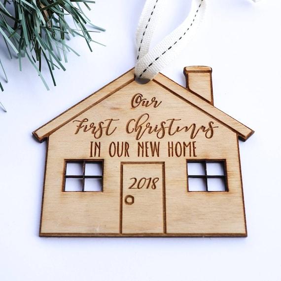 Christmas Gift Christmas Ornament First Christmas New Home First House New House Custom Ornament