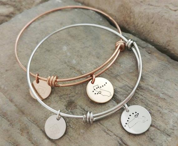 Best Friend Bracelets Long Distance Friendship Jewelry Best Etsy