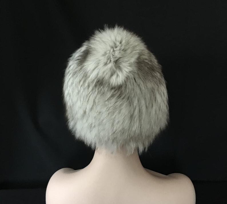 4d3361bd3 Russian Designer Fur Wig Hat Polar FOX Knit Acrylic Beanie Style Base FW1  Arctic-Store® Arktika