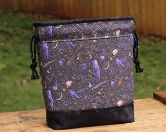 Witches Brew, medium project bag