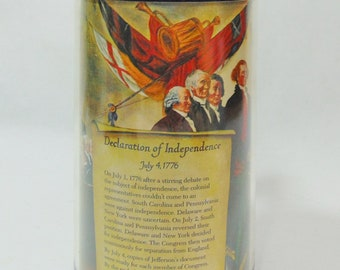 1980s, Declaration of Independence, Thermo Serv Mug, Thermo Serv, Founding Fathers, Independence Day, Thomas Jefferson, Thomas Jefferson Mug
