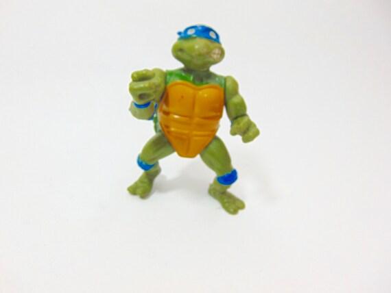 VERY RARE VINTAGE 80/'S TMNT MUTANT NINJA TURTLES PLASTIC FIGURE SET NEW 2 !