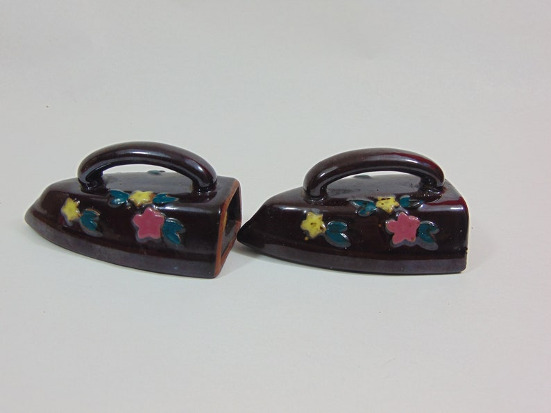 Vintage Home and Living ~ Serving Accessories ~ Salt And Pepper Shakers ~ Hot Irons