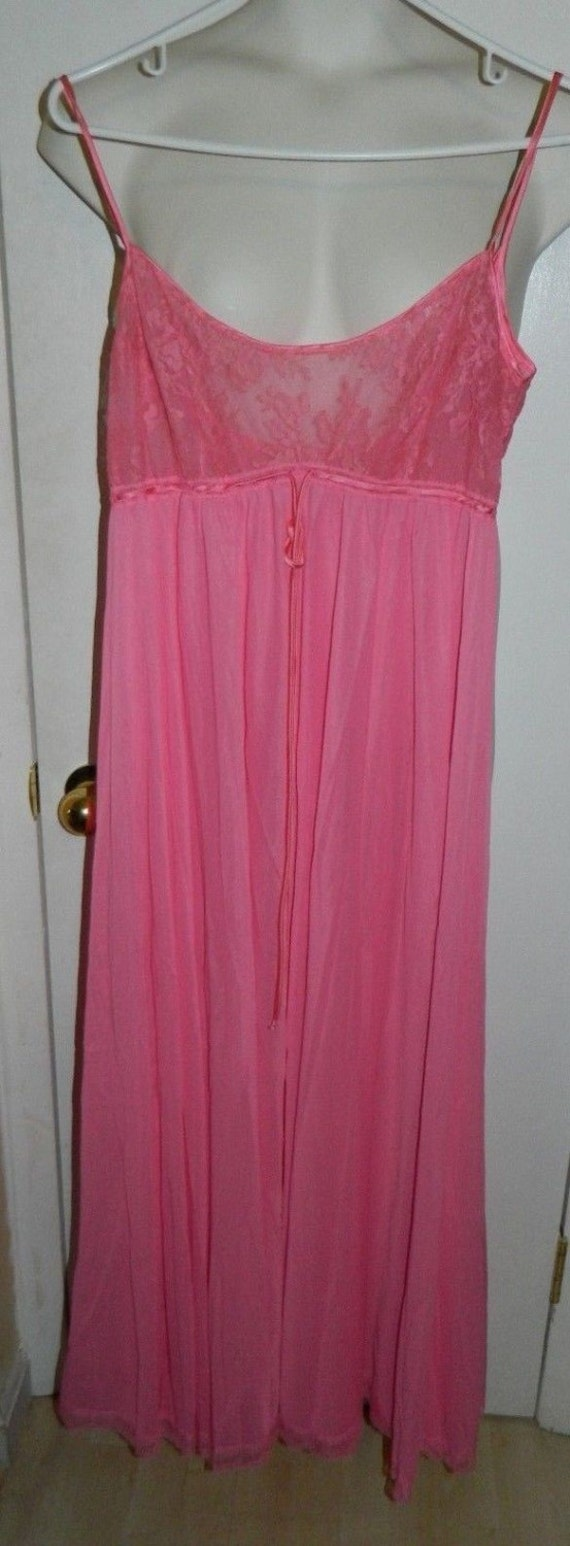 Vintage Pink Lace Claire Sandra by Lucie Ann Pink… - image 3