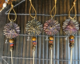 Anting Anting Blessed Amulets for Power, Protection, Prosperity, Good Fortune w/ stingray tail, dragons blood, angelica root - Babaylan