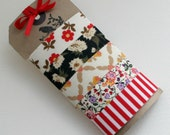 Washi Tape, Fabric- Vintage and Modern Florals, Masking Tape