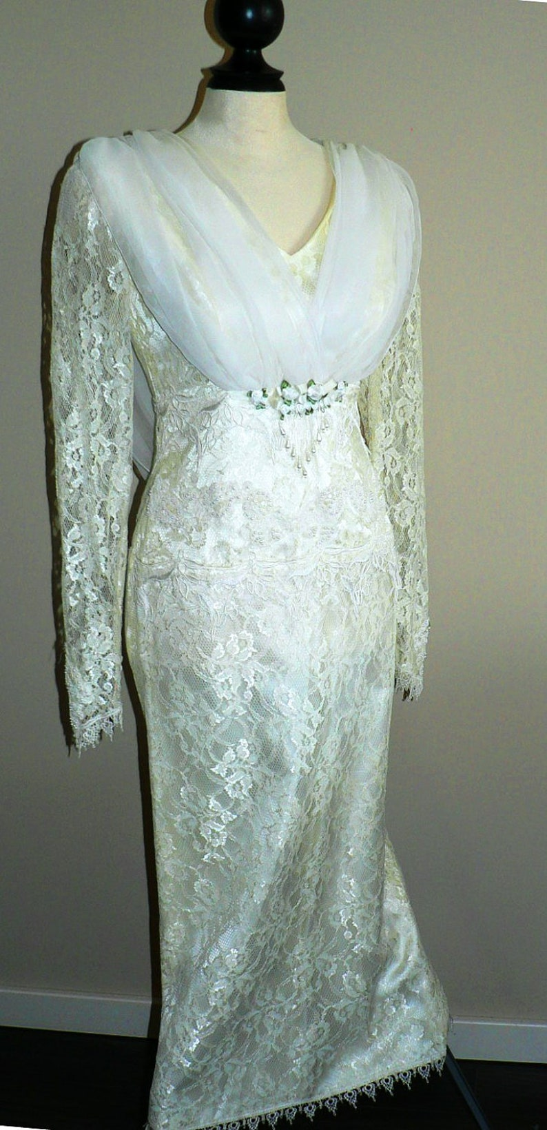 vintage wedding ... PRINCESS BEAUTIFUL Bride dress ... vintage image 0