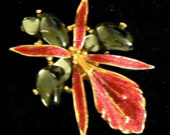 vintage jewels ...  AURORA 738 marked BROOCH PIN ...