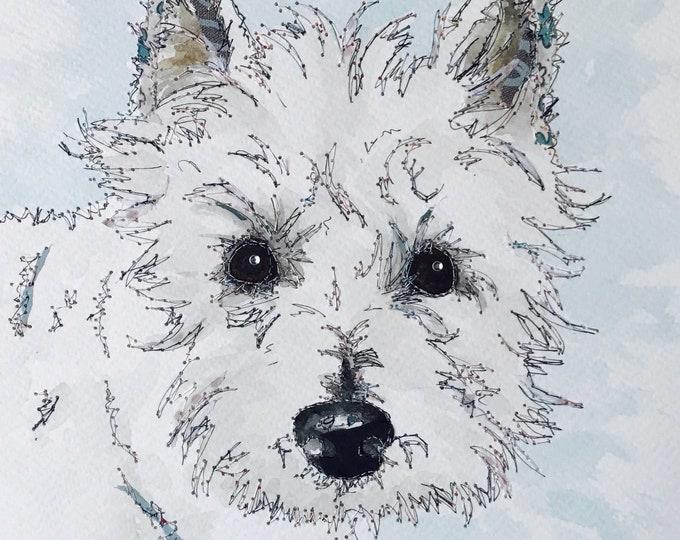 Featured listing image: Pet Portrait - Original Art