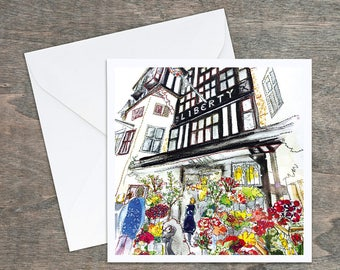 Liberty of London - Blank Art Card