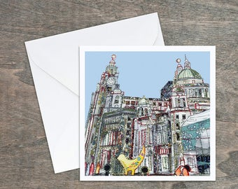 Liverpool Waterfront - Art Card