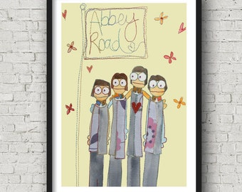 Liverpool Loves - Fab 4 - Abbey Road - Liverpool