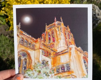 Liverpool Cathedral Card