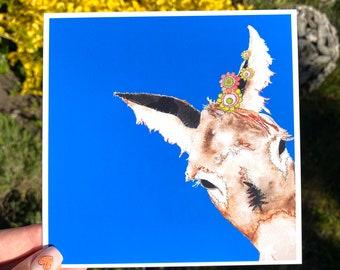 Donkey - Blank Card