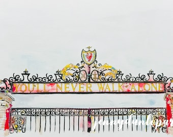 YNWA - Anfield Gates - Liverpool Football Club