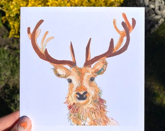 Stag - Blank Card