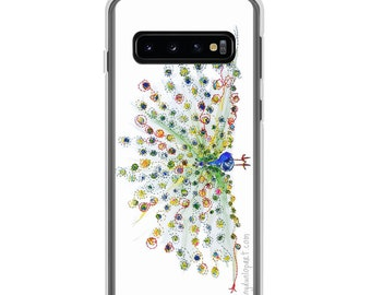 Samsung Case - Peacock