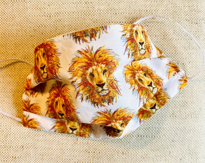Featured listing image: Face Mask - Lion