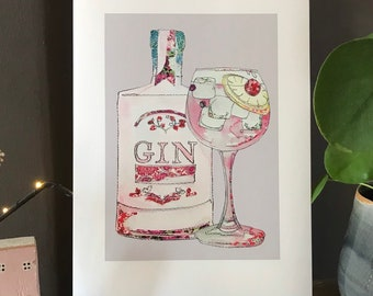 Gin - Gin & Tonic - Print