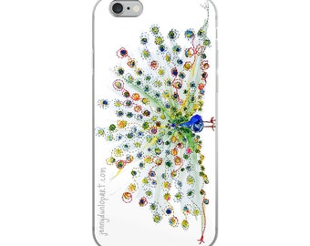 iPhone Case - Peacock