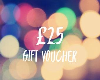 Gift Voucher 25