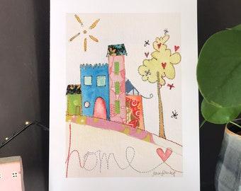Home Sweet Home - HOME - Print