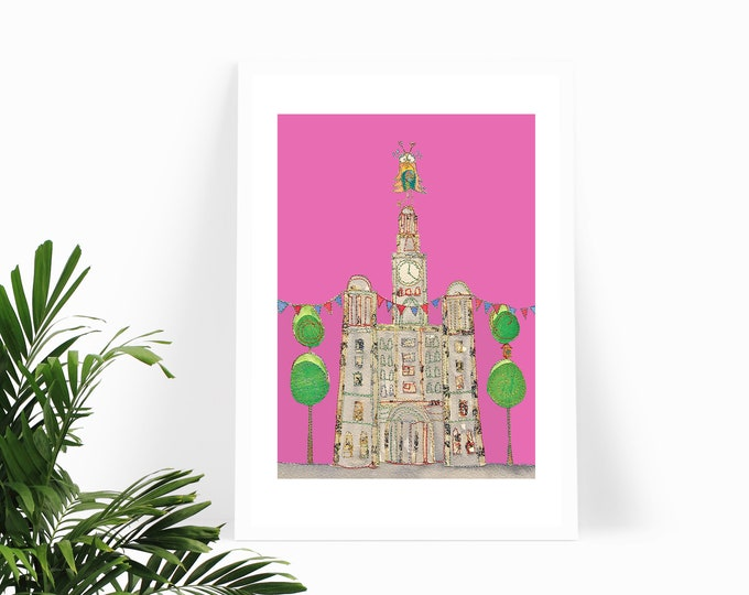 Liver Building with Owl