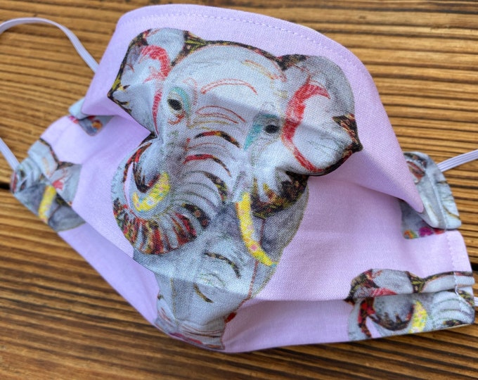 Face Mask - Elephant