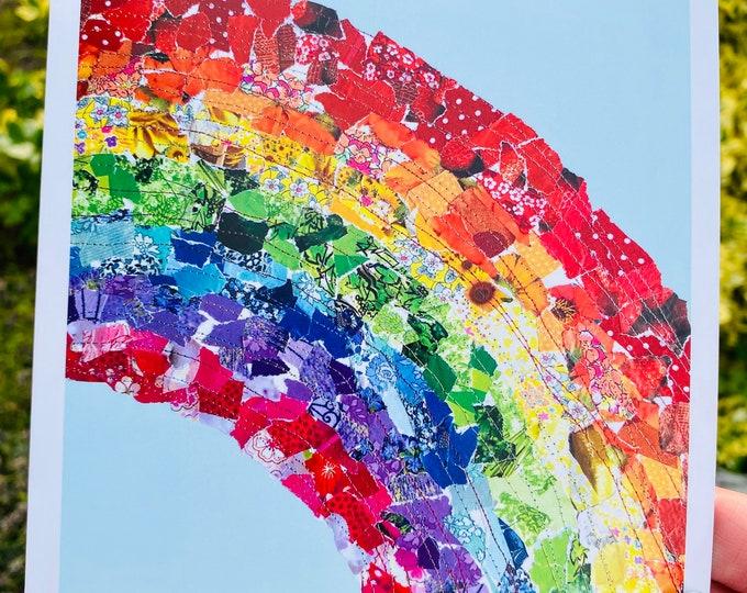 Rainbow Card