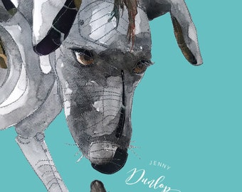 Xolo - Liverpool's Dream - liverpool Giants - Giant Dog - Giant Spectacular- PRINT
