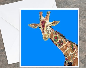 Giraffe - Art Card