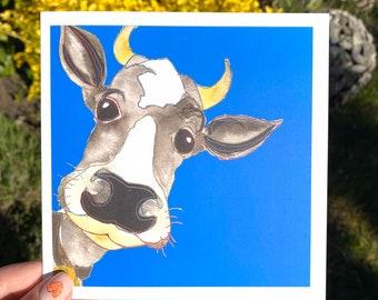Cow Card - Blank Card
