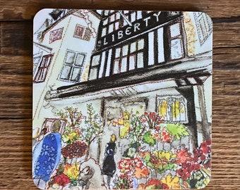 Liberty storefront Coaster