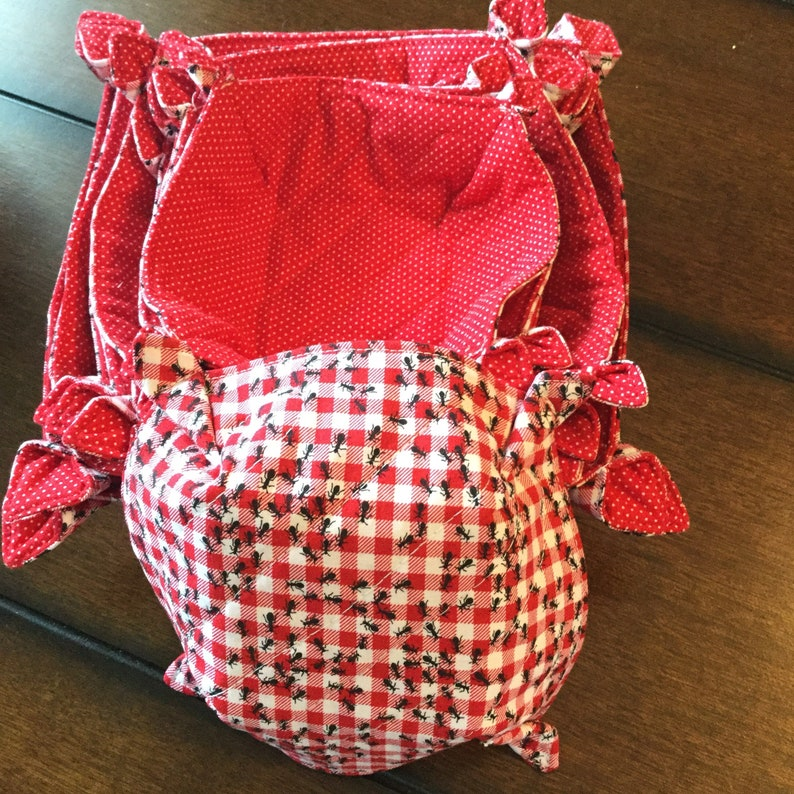 microwave bowl cozy Bowl cozies Microwave bowl cozies in three sizes ants at a picnic