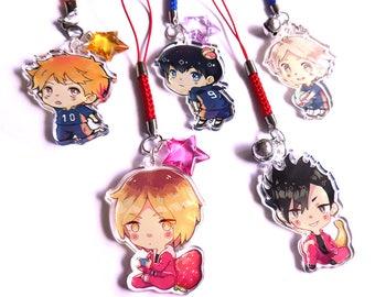 Kageyama, Hinata, Sugawara - Haikyuu!! acrylic charms