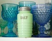 Jeanette Jadeite Beehive Salt Shaker