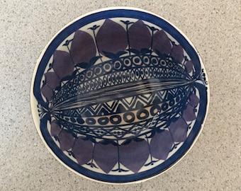 Royal Copenhagen Art Bowl Designed by Beth Breyen